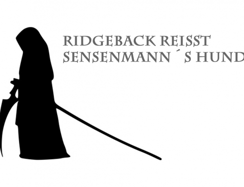 Ridgeback reißt Sensenmann´s Hund